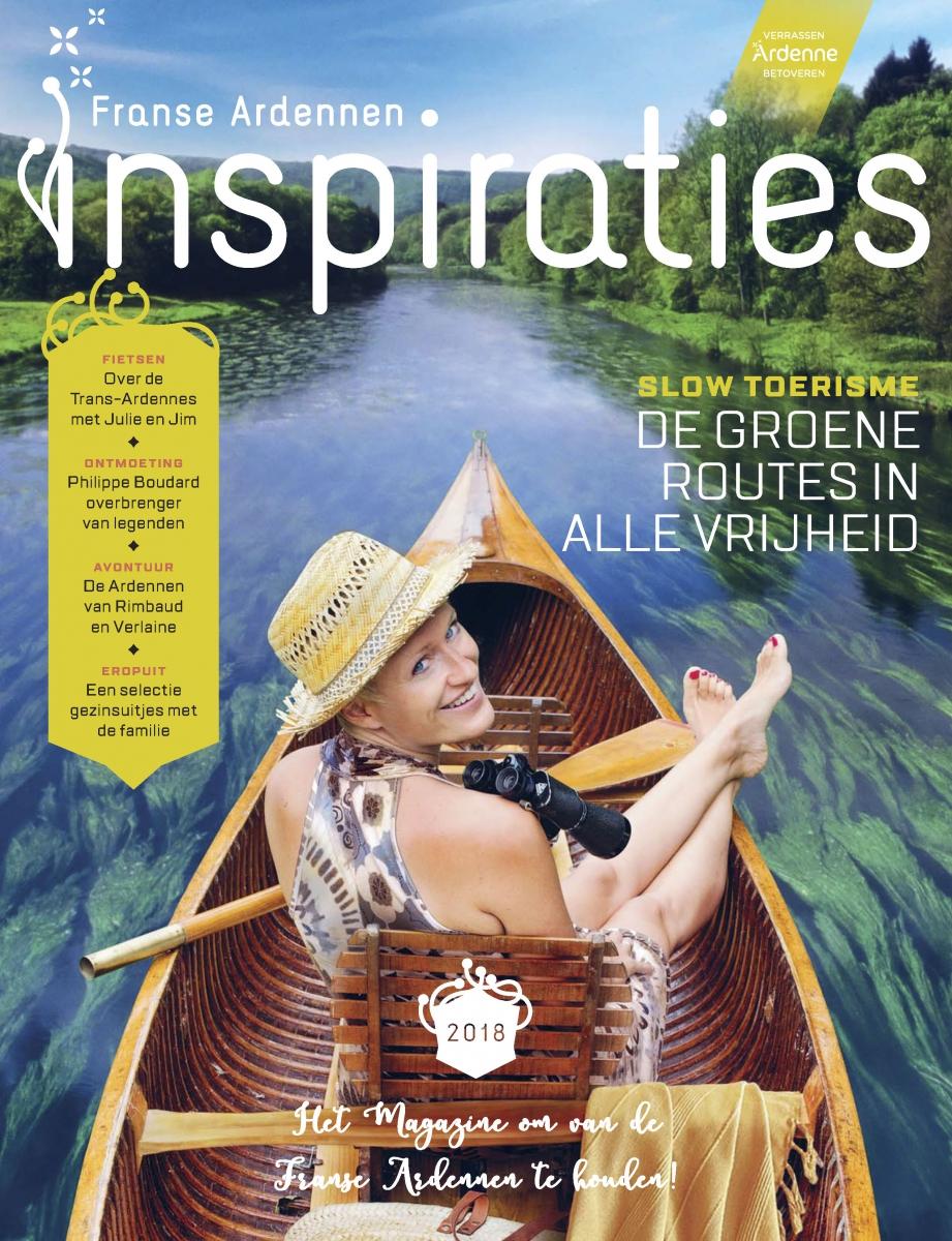 Toeristische Brochure Franse Ardennen Club Campinglife